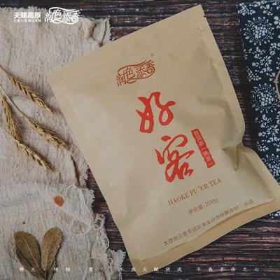 好客(普洱茶熟茶)1袋*200g